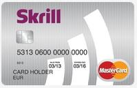 Skrill Prepaid MasterCard Kreditkarte